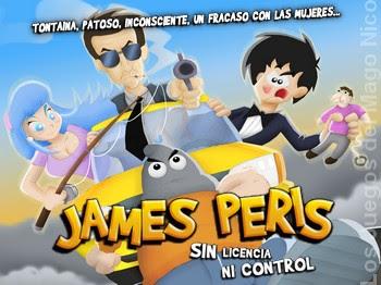 JAMES PERIS: SIN LICENCIA NI CONTROL - Guía del juego Jame_logo