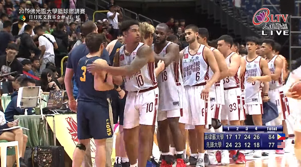 UP Fighting Maroons def. Vanguard University, 84-77 (VIDEO) BLIA Cup 2019 Semifinal