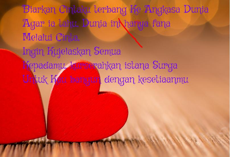 Puisi Cinta Pendek Romantis Cocok Untuk Sms Pacar Kumpulan