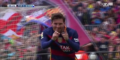 LFP-Week-37 Barcelona 5 vs 0 Espanyol 08-05-2016