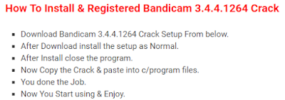 Bandicam 3.4.5 + Crack Key Patch Full Free Download