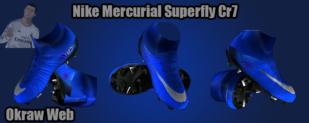 a88c62d55 ... best pes 2013 blue nike mercurial superfly iv cristiano ronaldo 2016  boots by okrawedit b834e cc375 ...