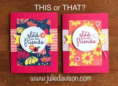 5 Cards, 1 Layout -- Stampin' Up! Occasion Catalog Incredible Like You + Happiness Blooms ~ www.juliedavison.com