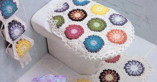 Juegos De Baño En Crochet Paso A Paso:Delicadezas en crochet Gabriela: 2 Juegos de baño en crochet