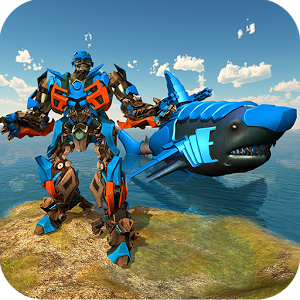 Transforming Robot Shark – Robot transformation APK Download