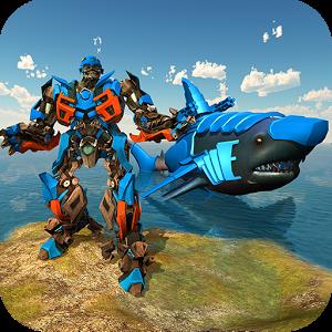 Transforming Robot Shark – Robot transformation APK Download
