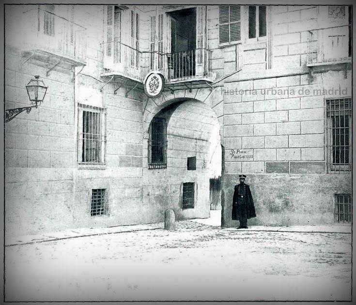 Historia Urbana De Madrid Arco De La Calle De La Pasa