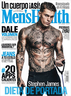 Stephen James for Men's Health October 2015