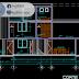 مخطط مسكن عائلي triplex اوتوكاد dwg