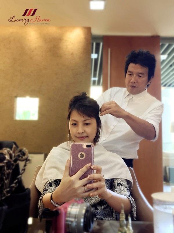 mosche hair salon custom scalp hair treatment review