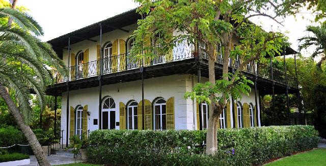 Hemingway House em Key West em Miami