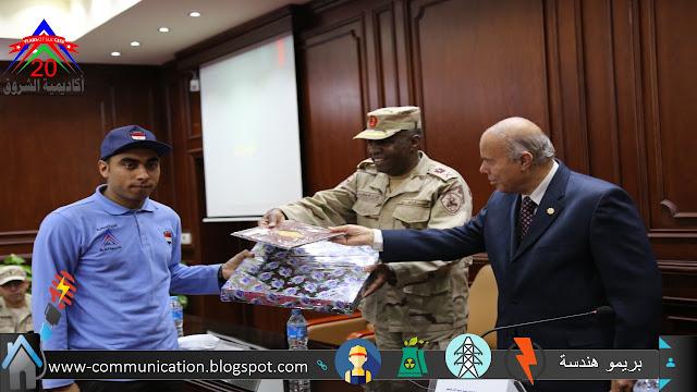 اللواء احمد عبدالرحيم باكاديمية الشروق تربية عسكرية