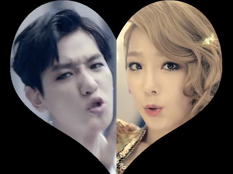 Taeyeon and Baekhyun