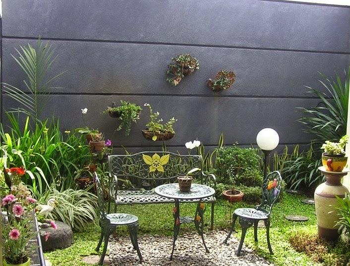 Desain Taman Belakan Rumah Minimalis 2015