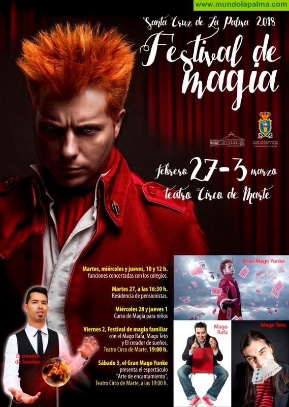 Santa Cruz de La Palma recupera el Festival de Magia