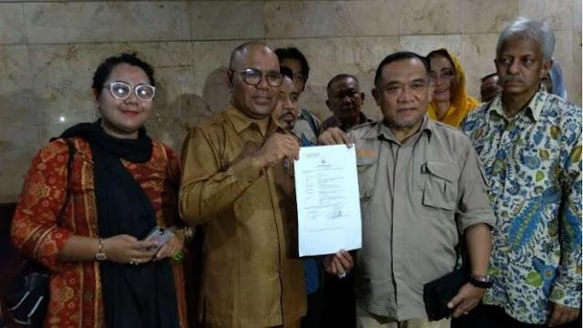 Politikus PDIP Resmi Dilaporkan ke Polisi soal Soeharto Guru Korupsi