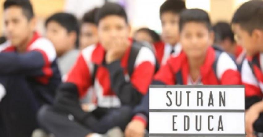 SUTRAN capacitó a 1,200 escolares iqueños para prevenir accidentes de tránsito - www.sutran.gob.pe
