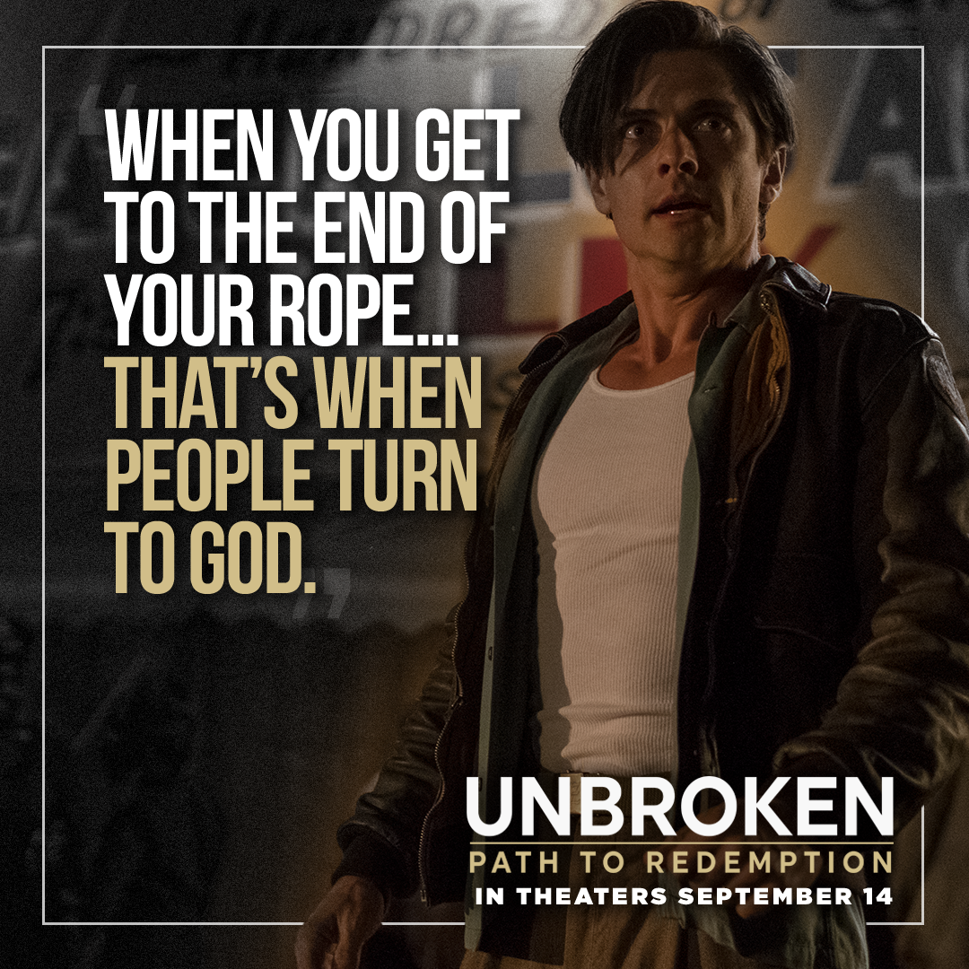 Mom Knows Best : My Review of Unbroken: Path to Redemption