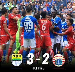 Persib Bandung vs Persija Jakarta 3-2 Higlights - Liga 1 Minggu 23/9/2018