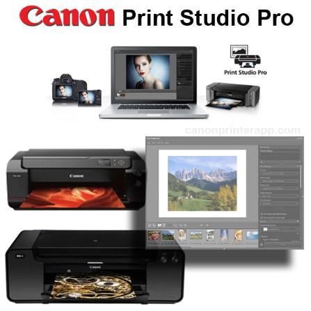 Canon Print Studio Pro Software Download | Canon Printer App