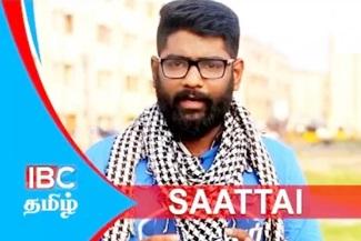 Saattai Dude Vicky 14-11-2017 IBC Tamil Tv