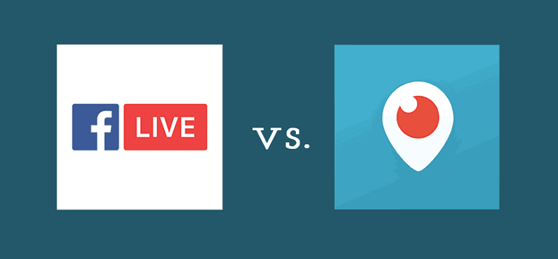 Facebook Live vs. Periscope