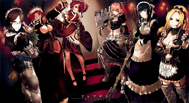 PLEIADES THE COMBAT MAID SQUAD OF NAZARICK