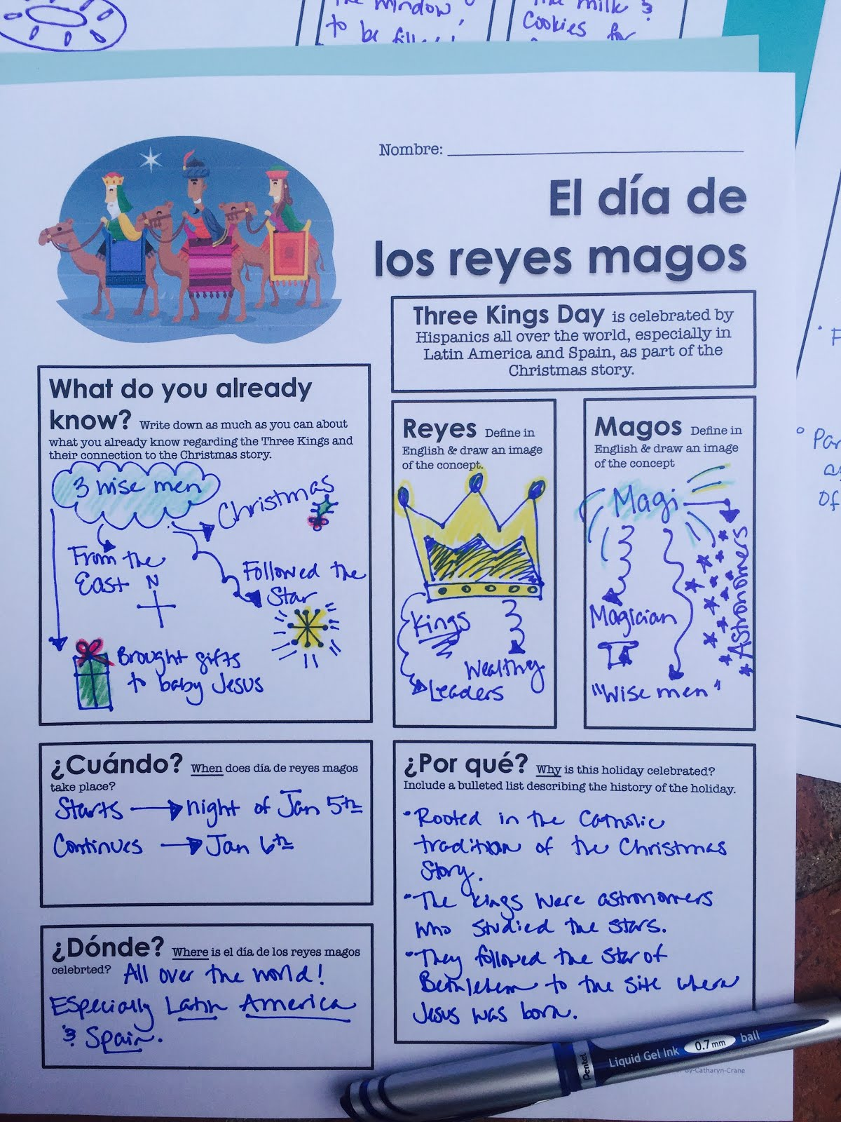 Teaching Dia De Los Reyes Magos In Beginning Spanish