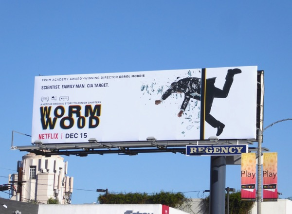 WormWood series premiere billboard