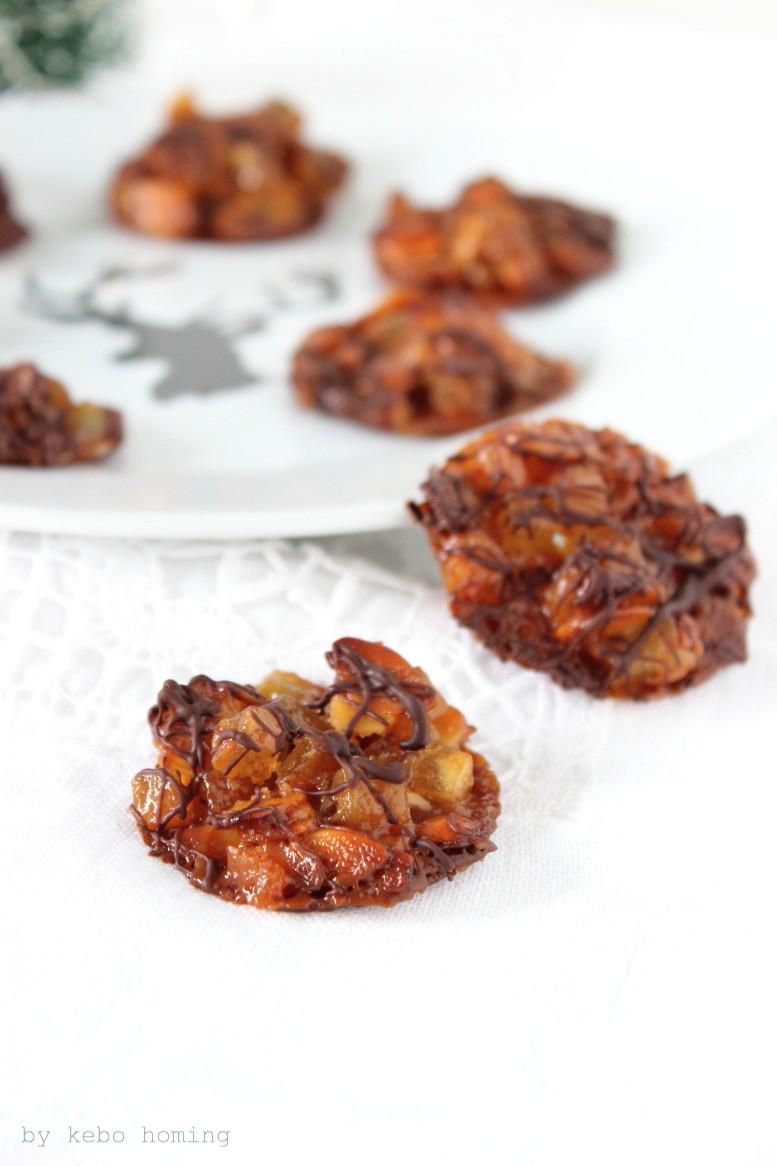 Mini Florentiner Plätzchen, cookies, Weihnachtsbäckerei, Rezept auf dem Südtiroler Food- und Lifestyleblog kebo homing, foodstyling & photography