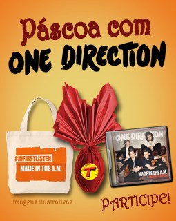 Concurso Páscoa One Direction