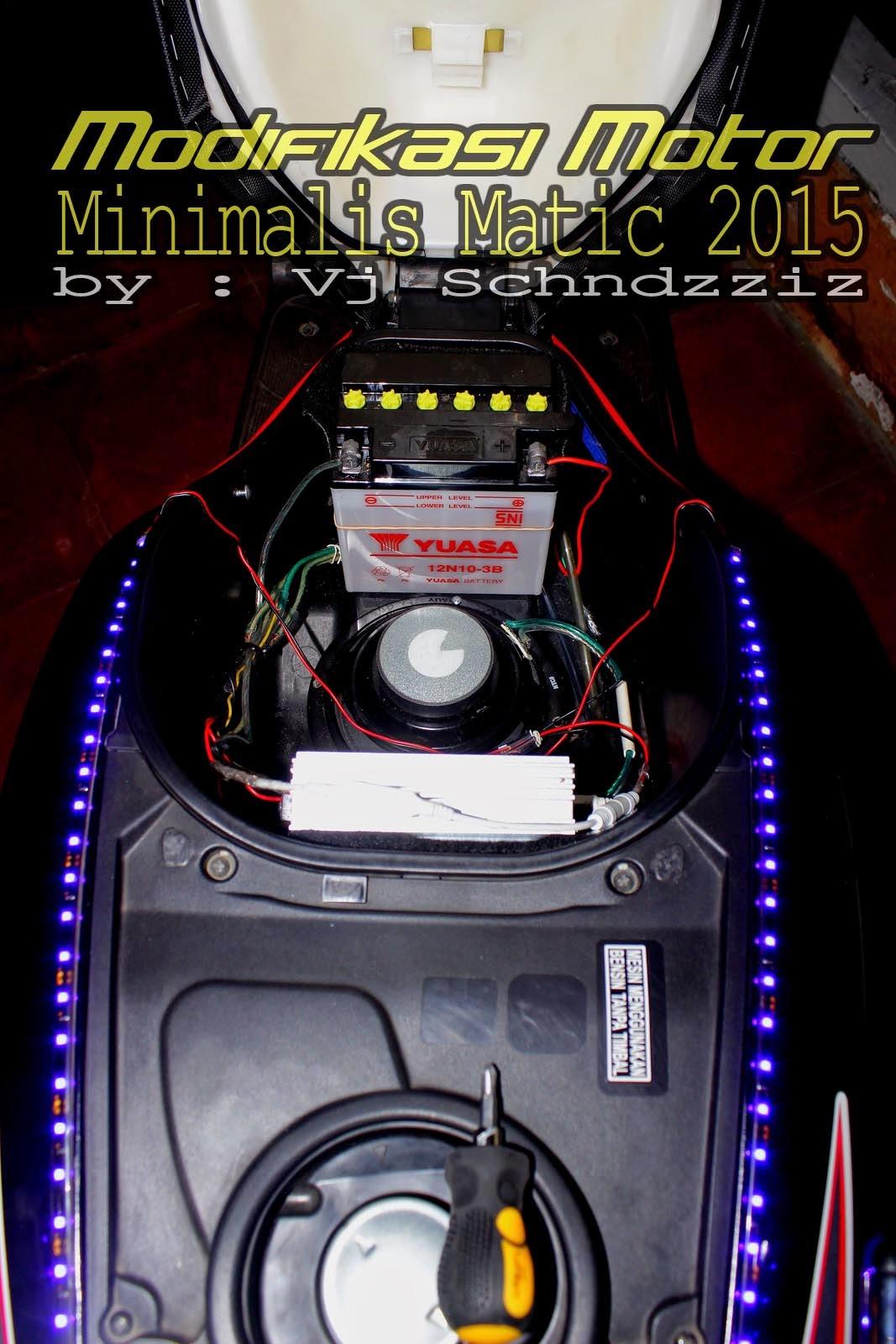Modifikasi Minimalis Motor Honda 2017