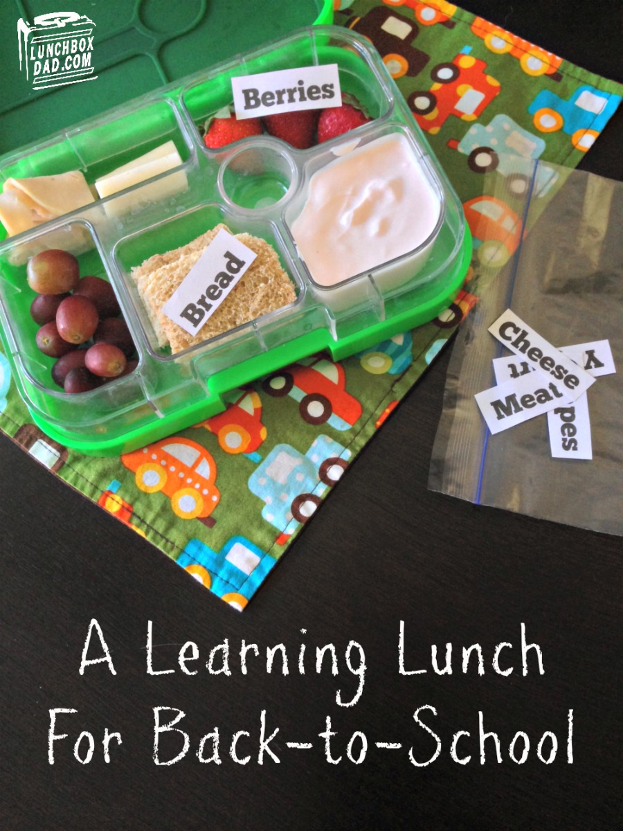 A Learning Lunch #backtoschool #spons
