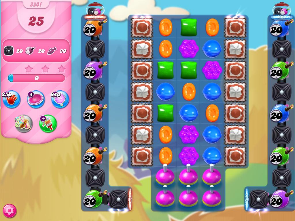Candy Crush Saga level 3201