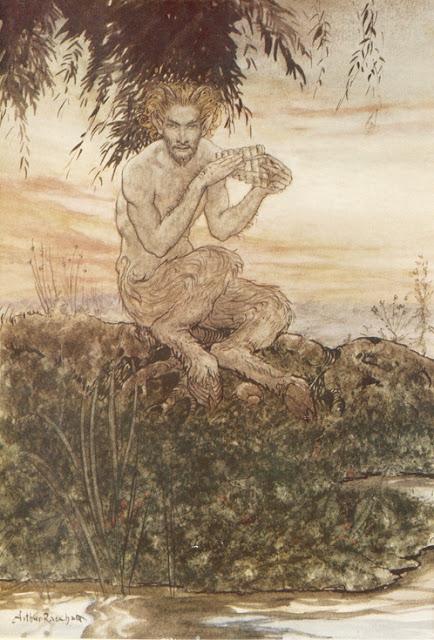Εικονογράφηση του θεού Πάνα