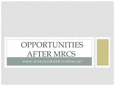 Opportunities After MRCS