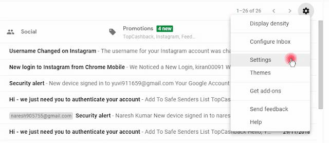 Personal Gmail Ka Backup kaise lete Hai?