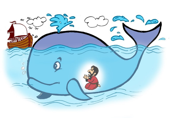 Kisah Nabi Yunus Ditelan Ikan Paus