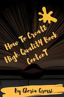 write a book content