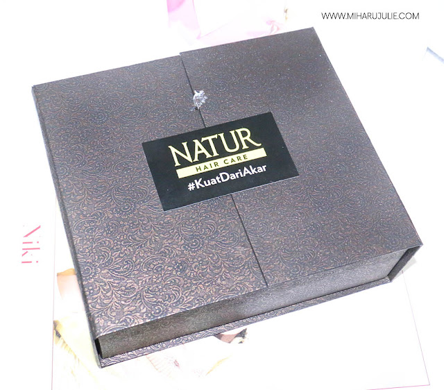 unboxing natur hair care