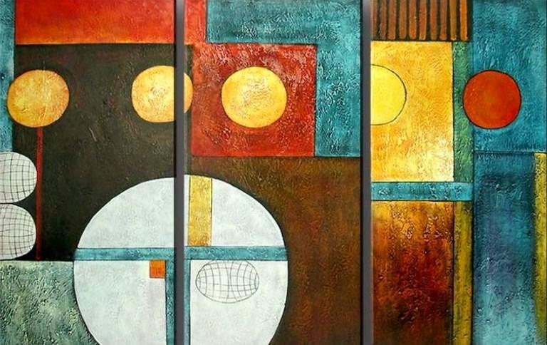 Cuadros modernos pinturas y dibujos galer a cuadros modernos for Fotos de cuadros abstractos sencillos