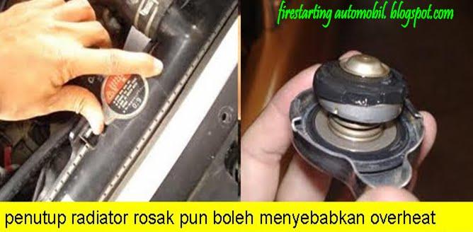 air tangki radiator