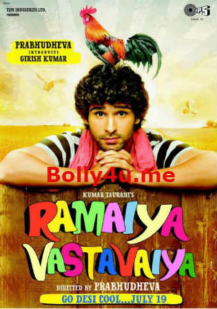 Ramaiya Vastavaiya 2013 HDRip 999MB Hindi 720p ESub Watch Online Full Movie Download bolly4u