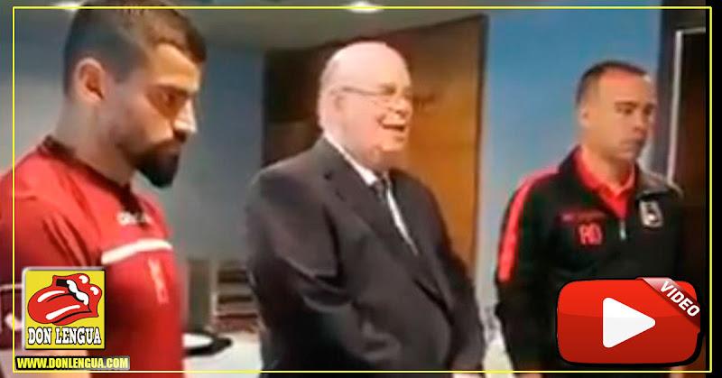 Este fue el video de Antonio Ecarri con la Vinotinto que enloqueció al régimen de Maduro