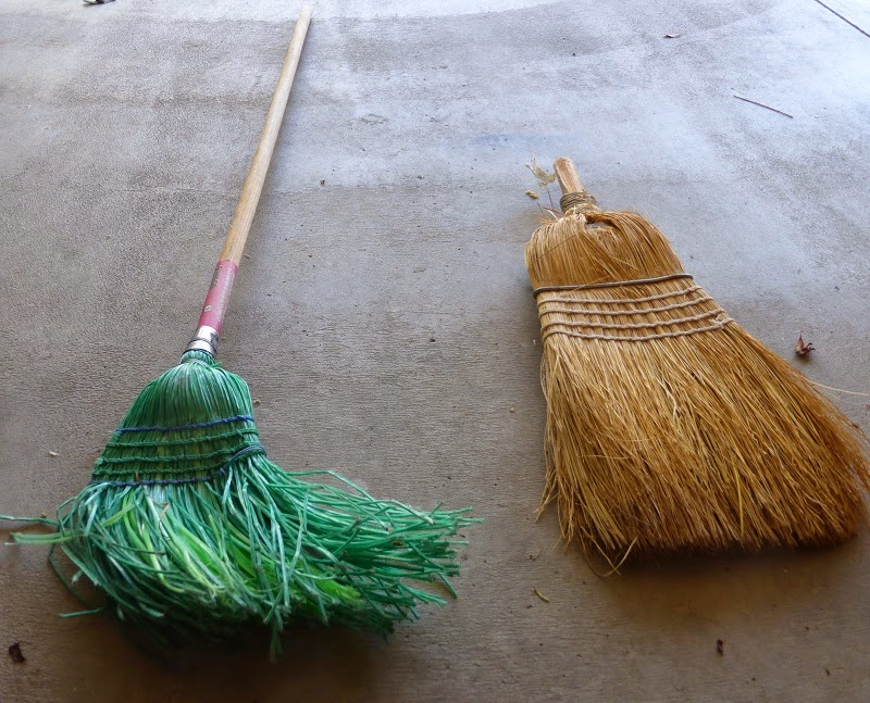 Two bad brooms make one good broom