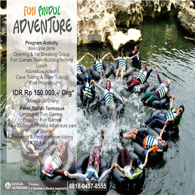 PAKET OUTBOUND CAVE TUBING PINDUL