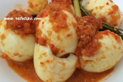 Resep Telur Balado Super Pedas dan Praktis, Mau?