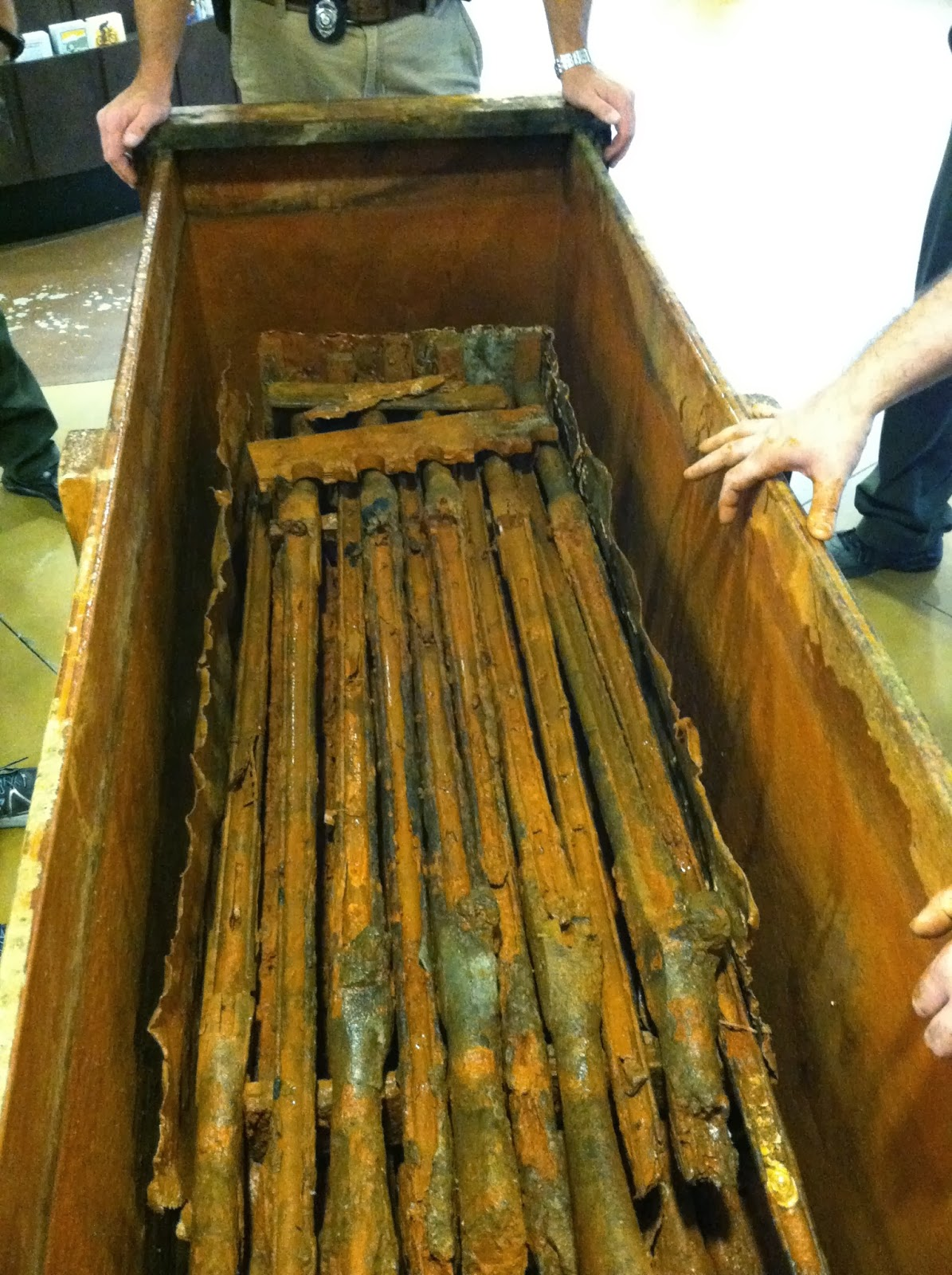 The Civil War Picket Rare Crate Of Civil War Rifles