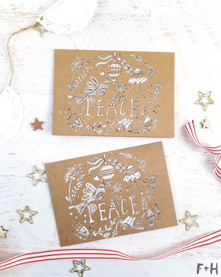 diy christmas holiday cards