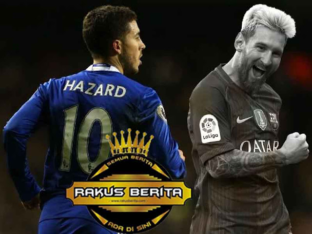 Fabregas : Hazard Dapat Dikalahkan Oleh Messi Saja